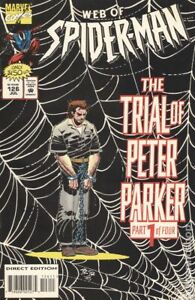 Web of Spider-Man #126 VG 1995 Stock Image Low Grade