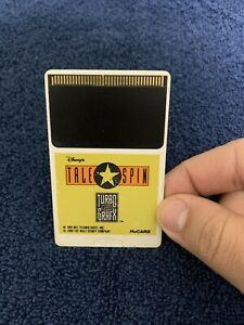 RARE Tale Spin Turbografx 16 HU Card Only! Authentic