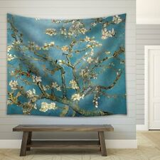 "Wall26® - ""Almond Blossoms"" by Vincent van Gogh - Fabric Tapestry - 51x60 inches"