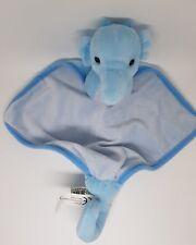 Doudou Hippocampe Plat Mouchoir bleu Impexit NEUF