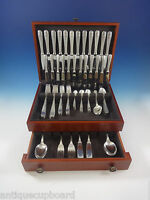 Villeroy by Christofle Silverplate Flatware Dinner Service 12 Set 119 Pcs France