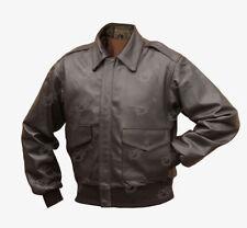 Cappotti e giacche da uomo marrone in pelle