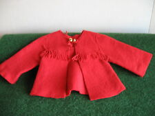 MANTEAU A FRANGE ROUGE          cart  7