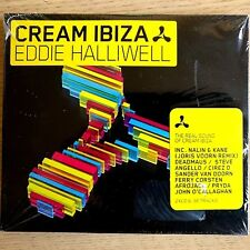 2CD NEW - CREAM IBIZA - EDDIE HALLIWELL - Dance House Pop Club Music 2x CD Album