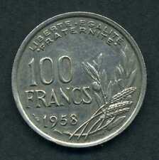 (533) 100 FRANCS COCHET 1958