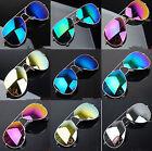 Unisex Vintage Retro Women Men Glasses Mirror Lens Sunglasses Fashion BE