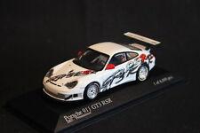 Minichamps Porsche 911 GT3 RSR 2003 1:43 White Presentation Version (HB)
