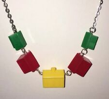 House Street Pendant Necklace Charms Plastic  Kitsch G316 Monopoly