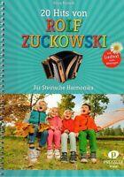 Steirische Harmonika Noten : 20 Hits von ROLF ZUCKOWSKI - leicht + mittelschwer