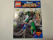 LEGO Instruction Notice Super Heroes Superman vs. Power Armor Lex (6862)