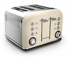Morphy Richards Accents 4-Slice Toaster - Sand