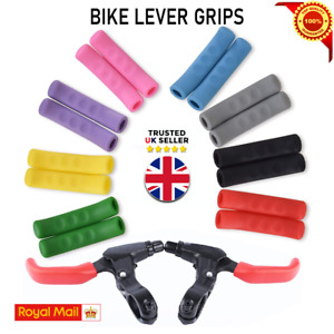 BRAKE LEVER GRIPS PROTECTORS COVERS MOUNTAIN BIKE MTB BMX FIXIE UK V