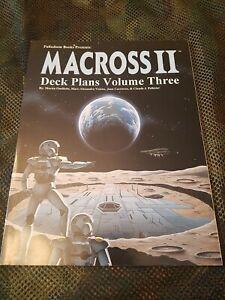 Macross II RPG Deck Plans Volume 3 Robotech