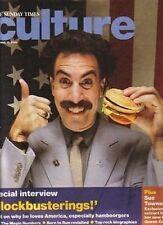 Sacha Baron Cohen as Borat on Magazine Cover 2006