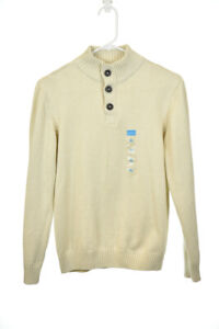 The Children's Place Boys Sweaters Pullovers XL Tan Cotton