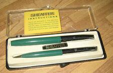 Sheaffer Pen (Script) & Pencil Set Vintage Estate Sale w/box