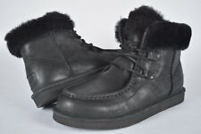 NIB! Womens Ugg Cypress 1007709 Black Boots  sz 9 US, 40 EU winter snow