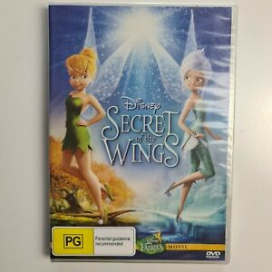 Disney The Secret Of The Wings DVD - Region 1 NTSC - New & Sealed - TRACKED POST