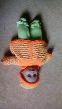 HAND KNITTED BABY DOLL CLOTHES TO FIT DOLL APPROX 14 INCHES