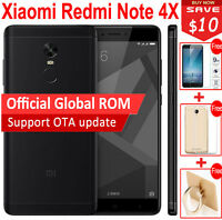 Original Xiaomi Redmi Note 4X 32GB Snapdragon 625 Octa Core Smartphone Black