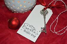 Santa's MAGIC KEY - Father Christmas Eve Tradition - Novelty Gift - No Chimney