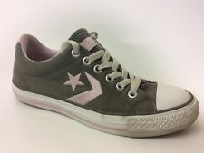Converse All Star Womens 7 M Casual Sneaker Pink Green White Lo Top Shoe Classic