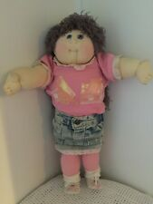 Soft Sculpture Cabbage Patch Signed Twice On Her Tush By Xavier Roberts