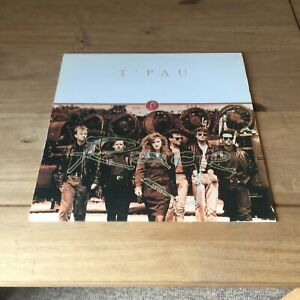 "T'PAU - RAGE (UK 1988 12"" VINYL ALBUM) SIREN SRN LP 20  A1/B1"