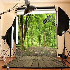 Forest Wood Floor Vinyl Photography Backdrop Photo Studio Prop Background 3x5FT