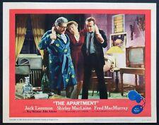 THE APARTMENT JACK LEMMON SHIRLEY MACLAINE 1960 LC3