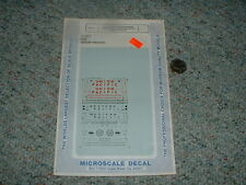 Microscale Decals N 60-507 50' 100ton airslide hoppers UP WP Missouri Paci  C100