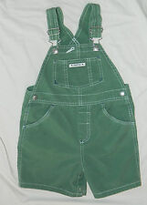 Infants Unisex Baby Gap Brand Green Overall Shorts size 3 years XL / 26x4