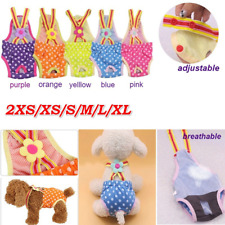 More details for female dog diaper nappy physiological sanitary underwear pants puppy short pants