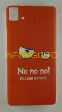 FUNDA de GEL TPU NO NO NO para BQ AQUARIS E5 4G en ESPAÑA CASE CARCASA