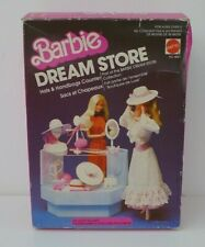 Hats & Handbags Counter Boxed Barbie Doll Dream Store Furniture, 1983