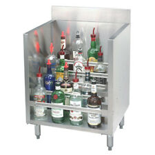 "Advance Tabco 18""W 5-Steps Liquor Bottle Display Unit w/ (20) Bottle Cap."