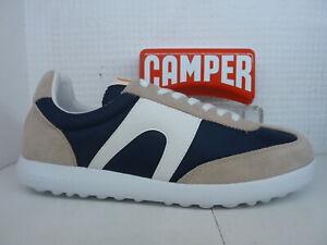 Camper Pelotas XLF K100545 011 Multi Leather Textile Mens Lace Up Trainer Shoe