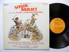 VIVA MAX Soundtrack LP Near-MINT Hugo Montenegro AL HIRT funk breaks  #364