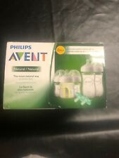 Philips Avent Natural Glass Bottle Baby Gift Set, SCD201/01 Free Shipping