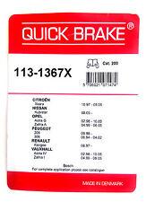 Quick brake 113-1367X kit para pastillas de freno BOSCH