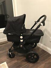 Bugaboo cameleon 3 stroller Black with bassinet