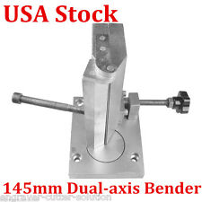 US Stock Dual-axis Metal Channel Letter Angle Bender Bending Tools - Width 145mm