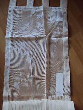 1 BB Raffrollo Faltrollo Schlaufen weiß Ausbrenner Elbersdruck B/H 45 x 165