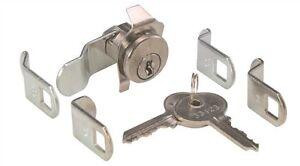 NEW Universal Mailbox Mail Box Keyed Locks Lock with Multi 5 Cams Combination