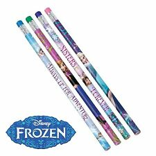 Disney Frozen Elsa Anna 12 Multi Color Coloring Pencils Kids Party Loot Bag