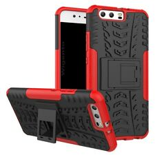 NEW Hybrid Case 2 Pieces Outdoor Red for Huawei P10 Plus Case Cover New
