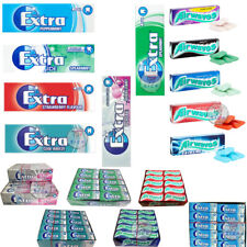 More details for wrigley`s extra chewing gum packets fresh stock 10 , 30 full box uk original