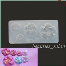 Flower Petal Shape 3D Nail Art Acrylic Mold Mould Manicure Tool Decoration #56