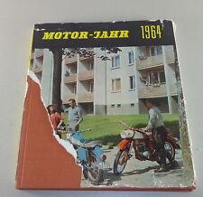 Bildband DDR Motorjahr 1964 - MZ ES, Troll 1, Barkas B 1000 Stand 1964