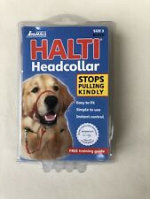 HALTI Head Collar Size 3 Gentle Stop Pulling Dog Lead Padded BRAND NEW
